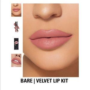 Bare Velvet Kylie Lip Kit
